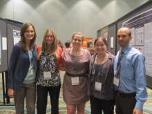 UF's Shelter Medicine program was well-represented at the conference, including interns, certificate students, and faculty in shelter medicine.