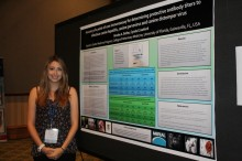 student researchers present their findings at Maddie's Shelter Medicine Conference